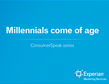 New Report: Millennials come of age
