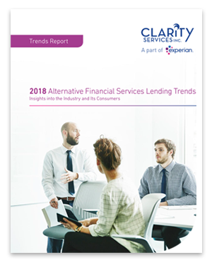 2018 Alternative Financial Services Lending Trends