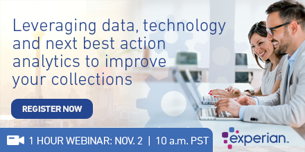 Leveraging data, technology and next best action analytics to improve your collections