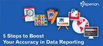 5 steps to boost                            your accuracy in data reporting