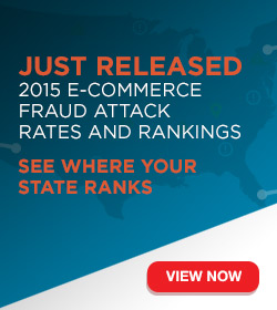 2015 E-commerce Fraud Attack Rates and Rankings