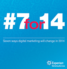 #7for14: 7 ways digital marketing will change in 2014
