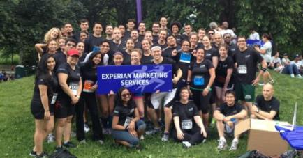 Experian Marketing Services Fundraising team