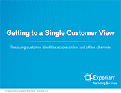 Single Customer View