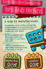 holiday                      marketing success infographic