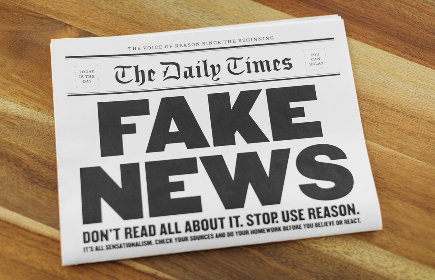 Here's Why Fake News Is a Threat to Your Identity