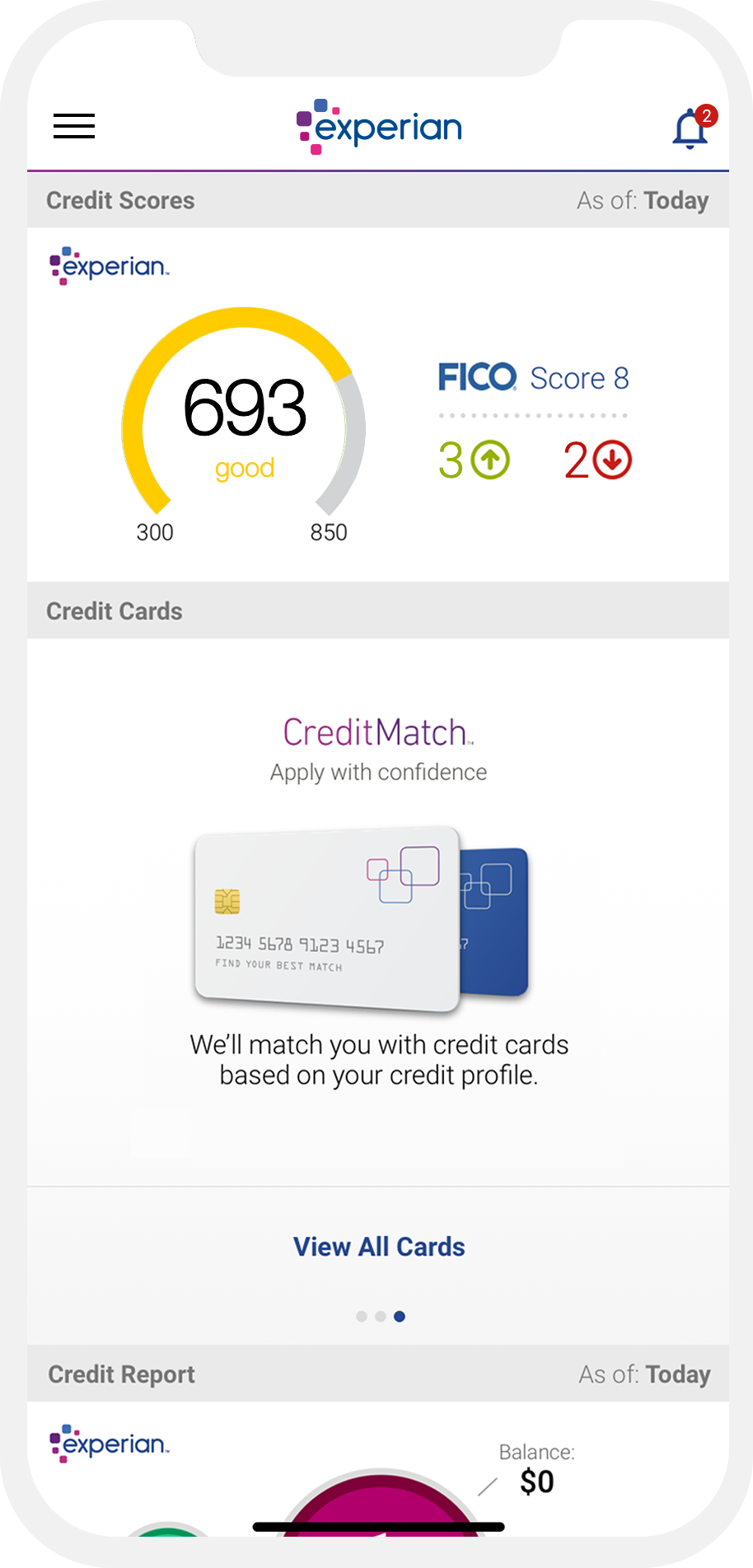 Instant Access to All Your Credit Needs - Experian