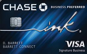 Ink Business Preferred(Service Mark) credit card