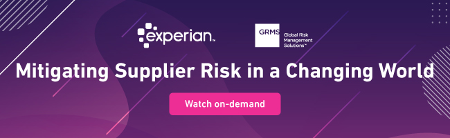 Mitigating Supplier Risk in a Changing World Webinar
