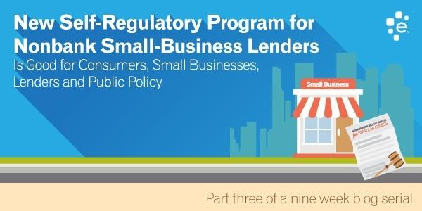 Self-Regulatory Program for Nonbank Small Business Lenders