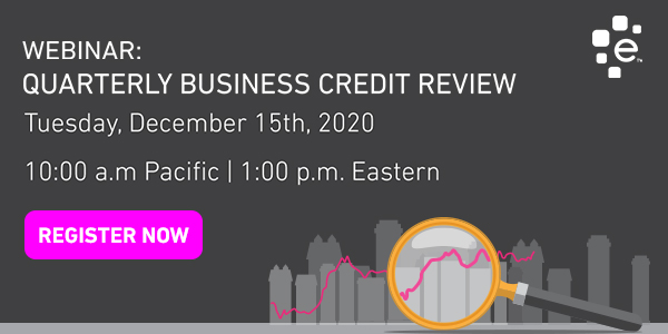 Join us for the Quarterly Business Credit Review
