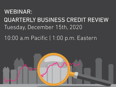 Register for the Quarterly Business Credit Review Webinar