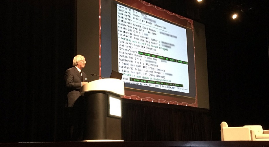 Frank Abagnale presents at HIMSS17