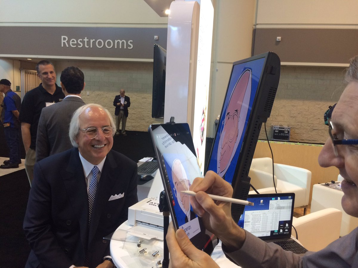 Frank Abagnale gets his own caricature