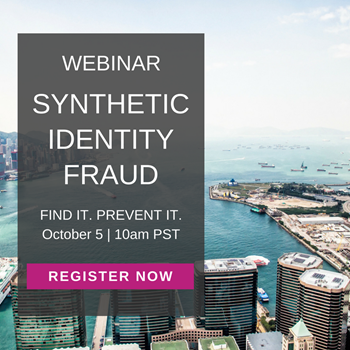 Synthetic Identity Fraud: Find It. Prevent It.