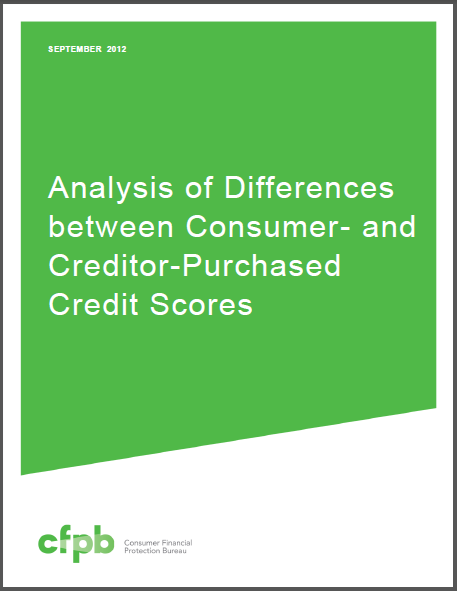 Cfpb Credit Score Report Correlations Across The Results