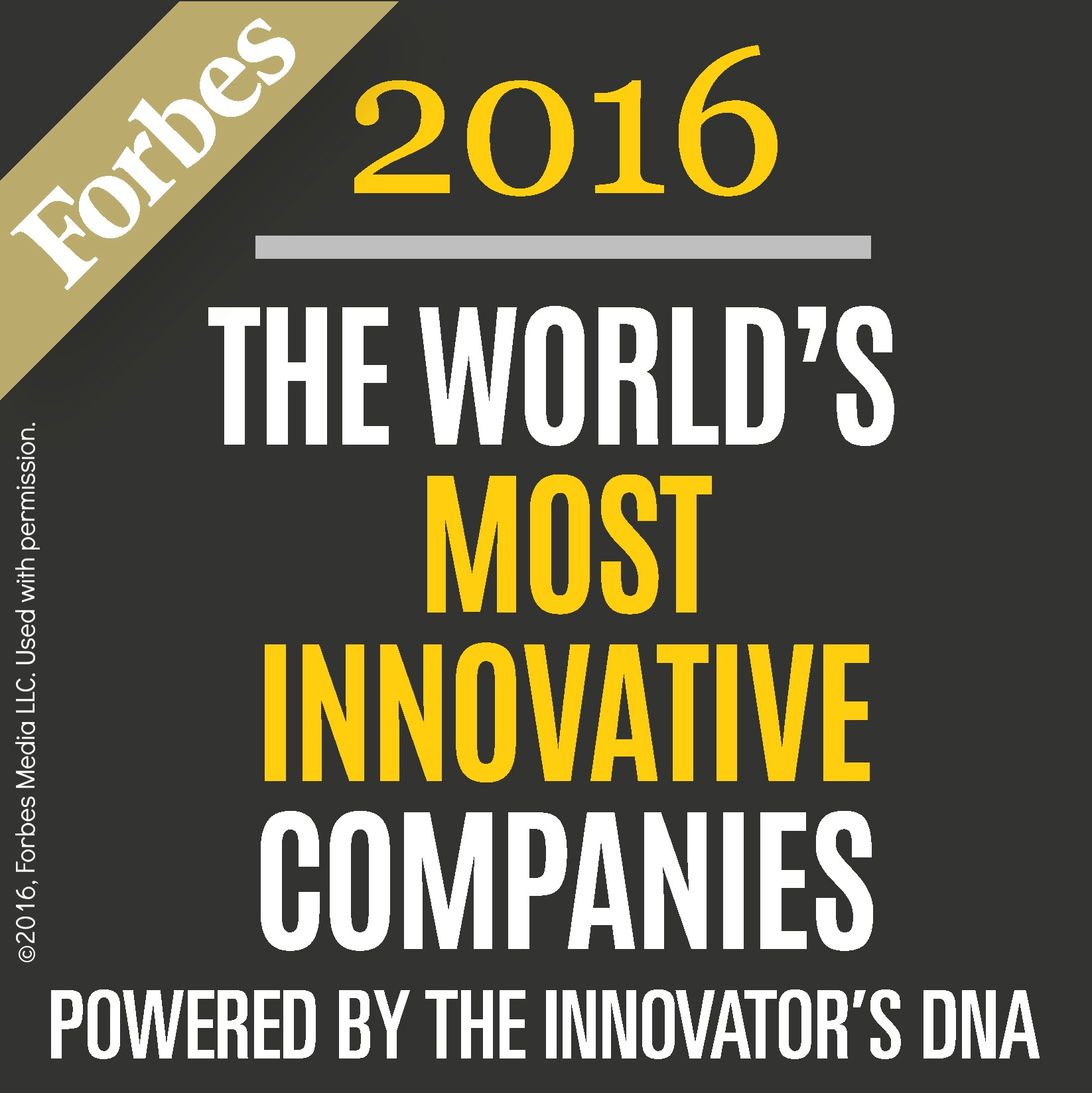 """Forbes names Experian Among Top 100 """"World's Most Innovative"""