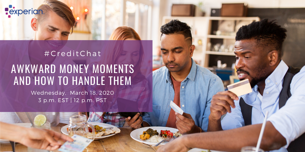 Awkward Money Moments and How to Handle Them - Experian Global News Blog