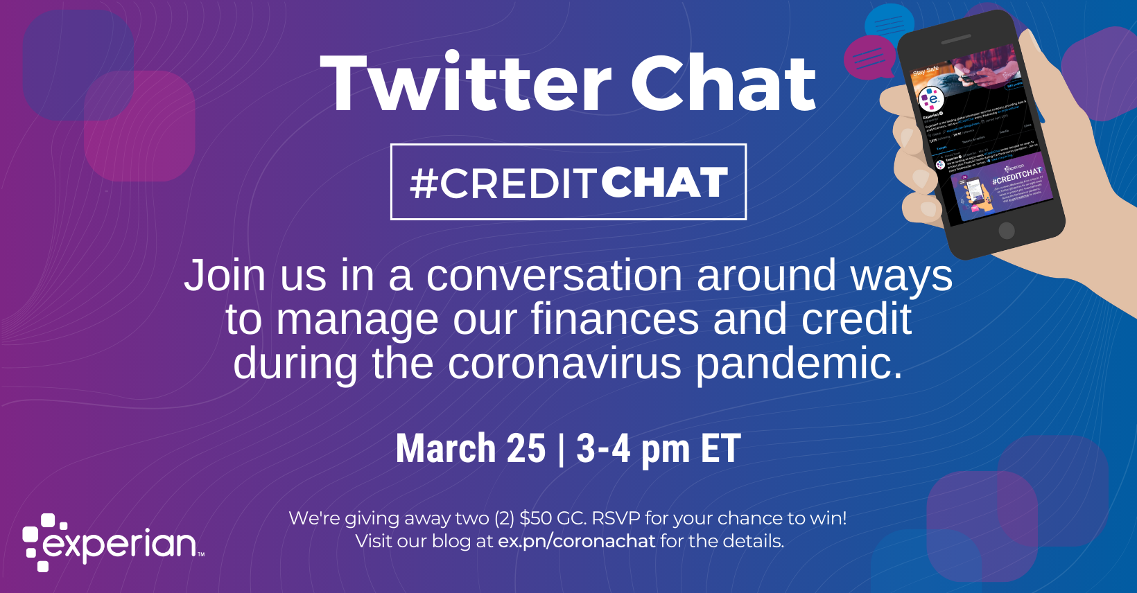 How to Manage Our Finances & Credit During This Coronavirus Pandemic - Experian Global News Blog