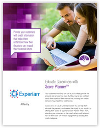 Educate Consumers with Score Planner™