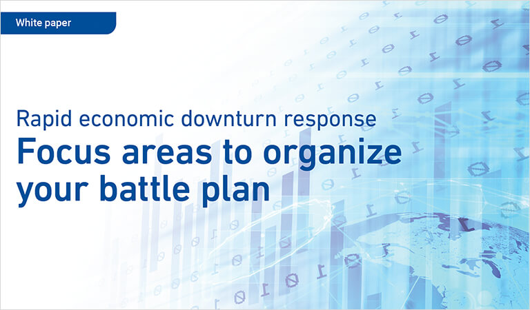 White paper: Focus areas to organize your battle plan