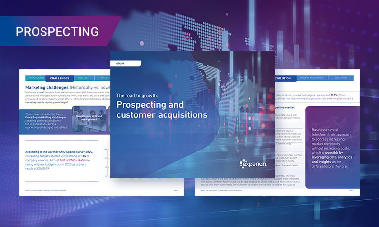 Prospecting and customer acquisitions banner