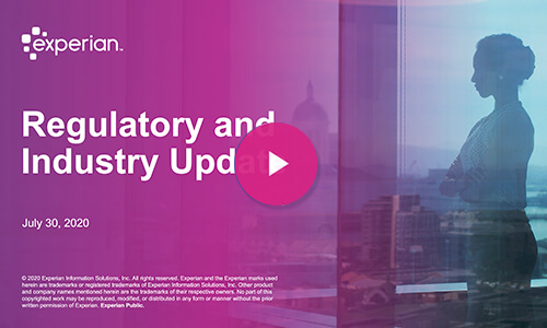 Regulatory and industry update banner