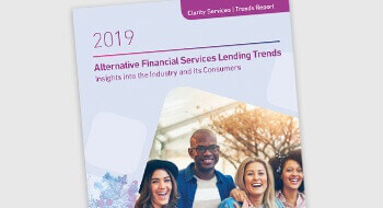 2019 Alternative Financial Services Lending Trends Report banner