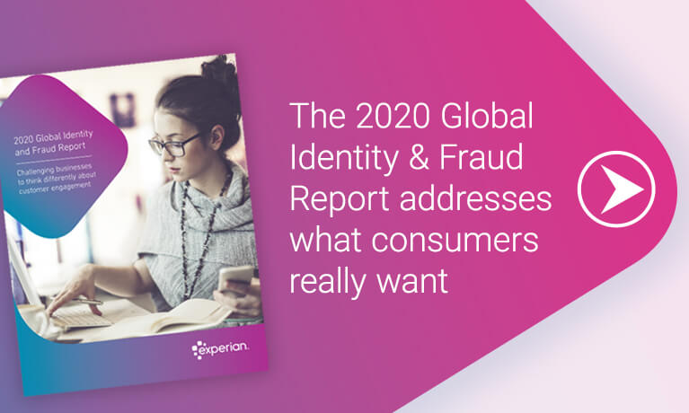 2020 Global Identity and Fraud Report banner