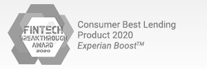 Consumer Best Lending Product 2020 - Experian Boost