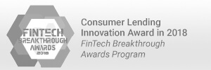 Consumer Lending Innovation Award 2018