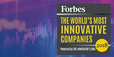 Award Forbes most innovative 2018_450x225