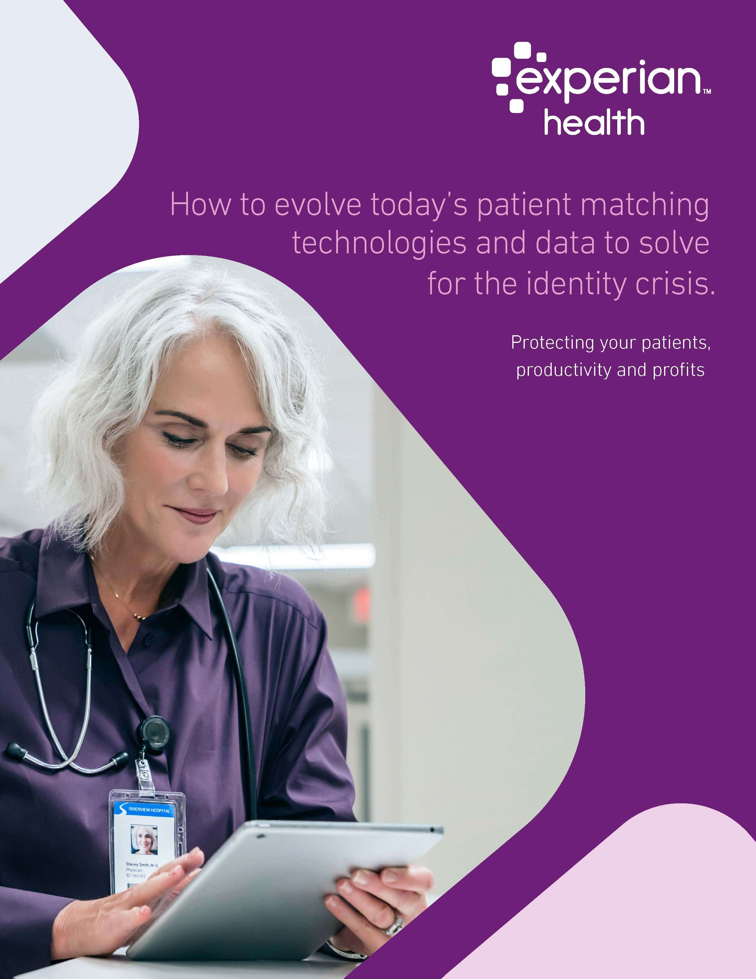 patient matching technologies ebook cover