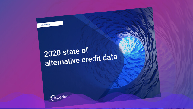 State of Alternative Credit Data banner