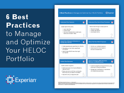 6 Best Practices to Manage and Optimize Your HELOC Portfolio